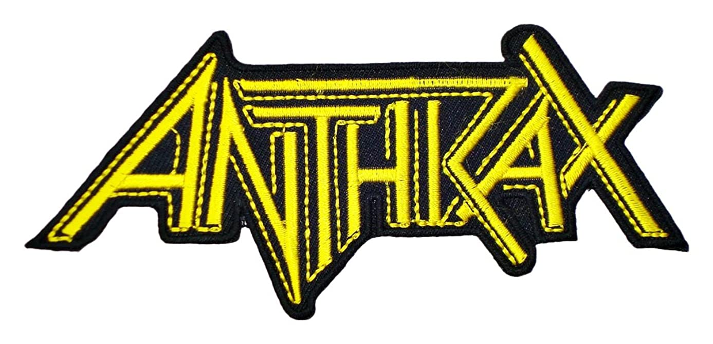 ANTHRAX Band t Shirts Logo MA22 Embroidery iron on Patches