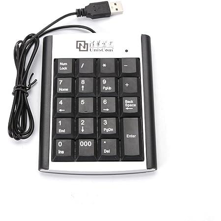 Teclado Numérico USB; Teclado Numérico para Pc O Mac. Cable USB Retráctil.