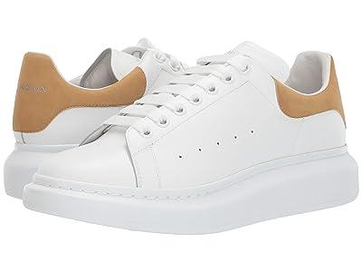 Alexander McQueen Double Sole Sneaker (White/Camel) Men