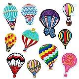 YYaaloa Iron On Patches 11pcs Hot Air Balloon...