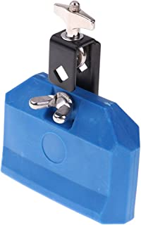 1 Piece Cencerro de Batería Parte de Percusión Hecho de Material Plástico - Azul, como se describe