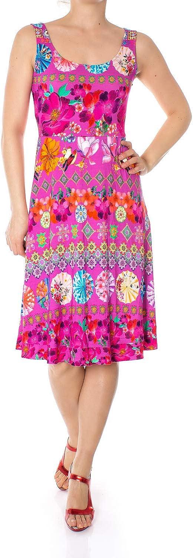 Desigual Short Dresses Woman Vest Crazy 19SWVK52