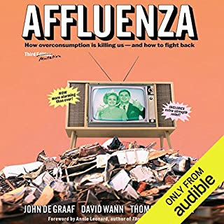 Affluenza audiobook cover art