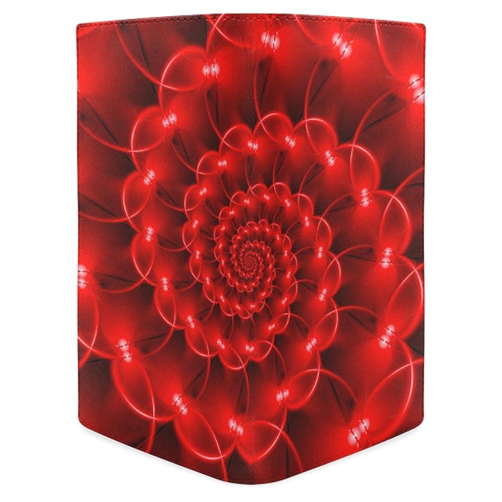 抽象またはどちらかマーキーADE Glossy Red Spiralレディースレザー財布ファッション財布m1611
