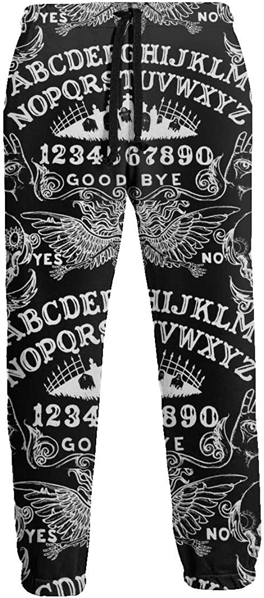 Milwaukee Mall ZALAYUNI Ouija Board Men Sport and Pants Comfortable Soft Over item handling ☆ Sweat
