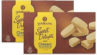 Goldilocks Sweet Delights Classic Polvoron 10.60oz (300g) 2 Pack