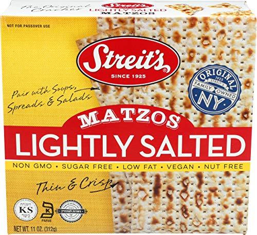 Streits, Lightly Salted Matzo, 11oz (3 Pack)