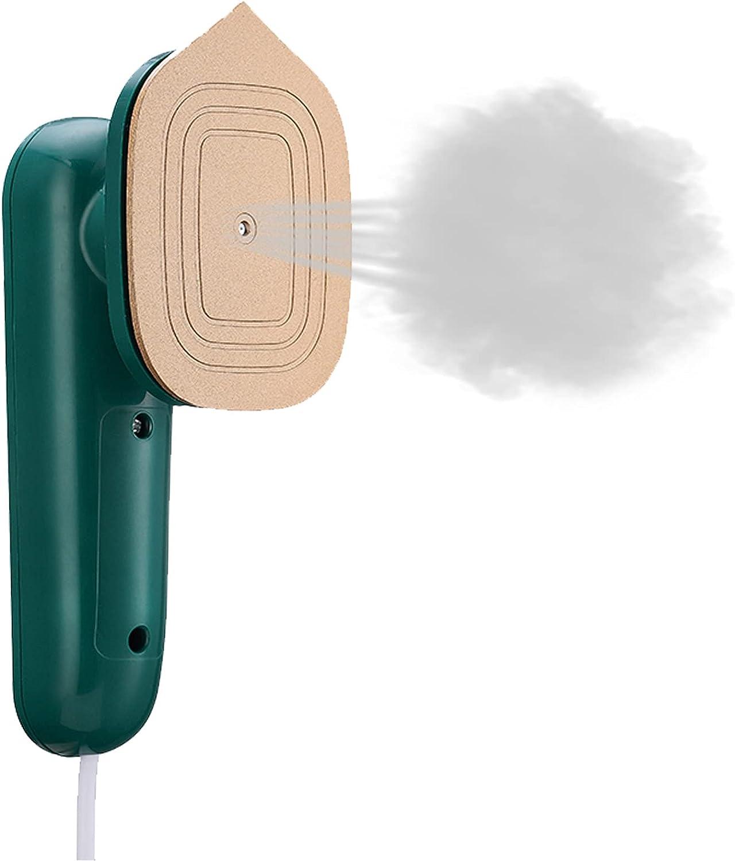 CDIYTOOL Mini plancha de vapor para ropa, plancha de vapor antiescaldantes para el hogar de mano, adecuado para todo tipo de ropa para viajes de negocios en el hogar