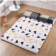 Tatami Mattress, Japanese Tatami Mattress Thicken Tatami Mat Sleeping Pad Foldable Roll Up Mattress Boys Girls Dormitory M...
