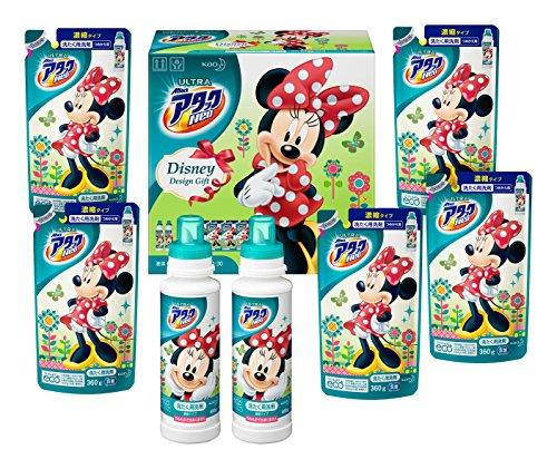 【洗剤ギフト】ウルトラアタックNeo ディズニーギフト 本体 400g (2本) つめかえ用 320g (5袋) ギフト