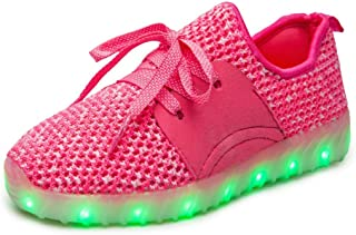 Unparalleled beauty Kids Boys Girls Breathable LED Light Up Shoes Flashing Sneakers