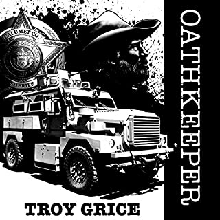 Oathkeeper audiobook cover art