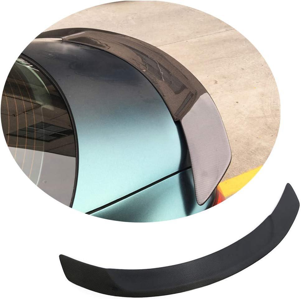 Jun-star Carbon supreme Fiber Rear Genuine Trunk Lip for C Benz Spoiler Mercedes