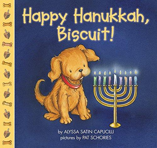 Happy Hanukkah, Biscuit!