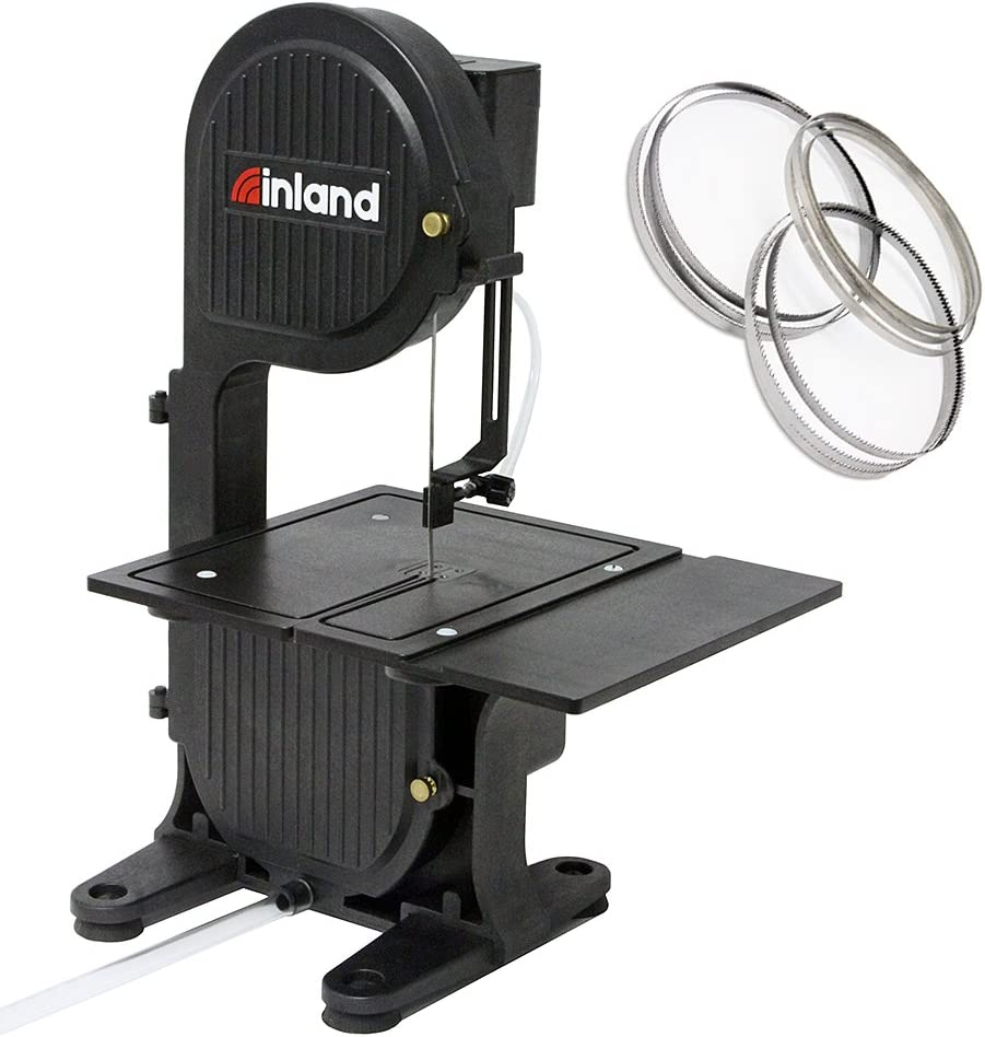 Inland Craft Max 55% OFF DB-100 Tabletop Band Stone Machine Glass Cuts Saw Popular overseas