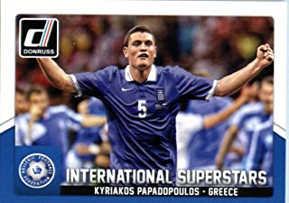 2015 Donruss International Superstars #74 Kyriakos Papadopoulos Soccer Card