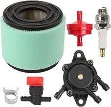 Kaymon 393957 390930 Air Filter 808656 491922 Fuel Pump for Briggs & Stratton 4106 271794 7HP - 18HP Engine John Deere 820 820A LG393957 LG393957S Fuel Filter Spark Plug Tune Up Kit