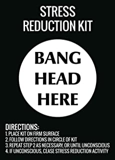 Best stress reduction kit bang head here Reviews