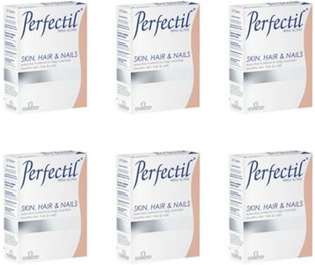 6 PACK - Vitabiotics 30s Formula Opening large release sale Perfectil New Bargain