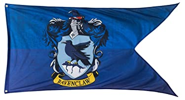 """Calhoun Harry Potter Hogwarts House Crests Outdoor Flag (30"""" by 60"""") (Ravenclaw)"""