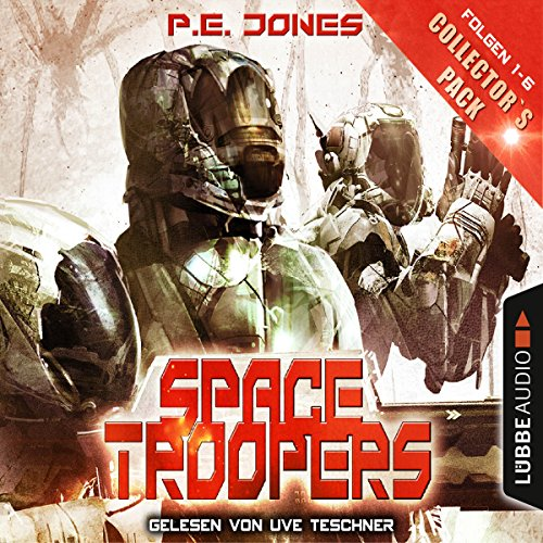Space Troopers - Collector's Pack (Space Troopers 1-6) Titelbild