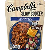 Campbell'sSlow Cooker Sauces Southern BBQ, 12 oz. Pouch (Pack of 6)