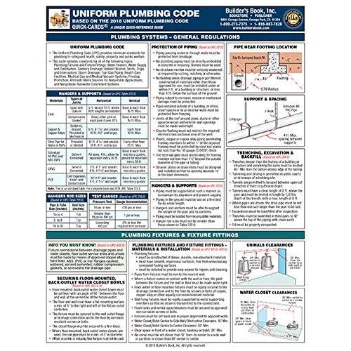 Uniform Plumbing Code Amazon