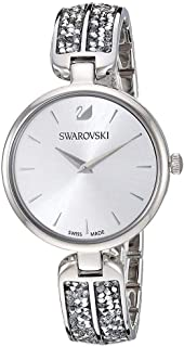 Swarovski Dream Rock Watch Silver Tone
