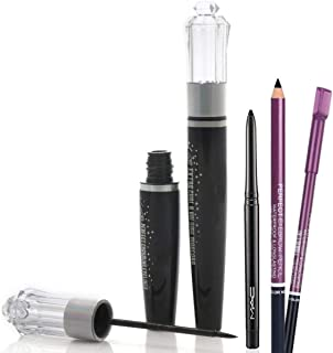 Spanking Extra Curl Volume Mascara & Eyeliner With Eyebrow Pencil free Kajal (3in1 Combo)