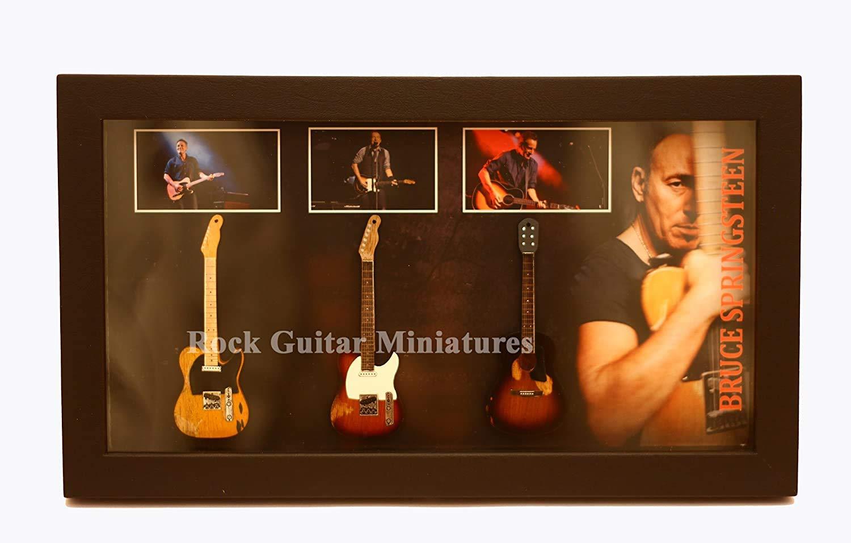 rgm8854 Bruce Springsteen guitarra en miniatura recogida en el ...