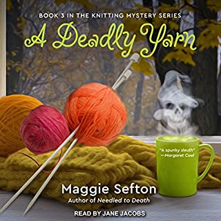 A Deadly Yarn audiobook cover art