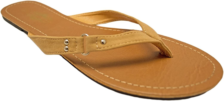 Charles Albert Women's Basic Buckle Flat Sandals