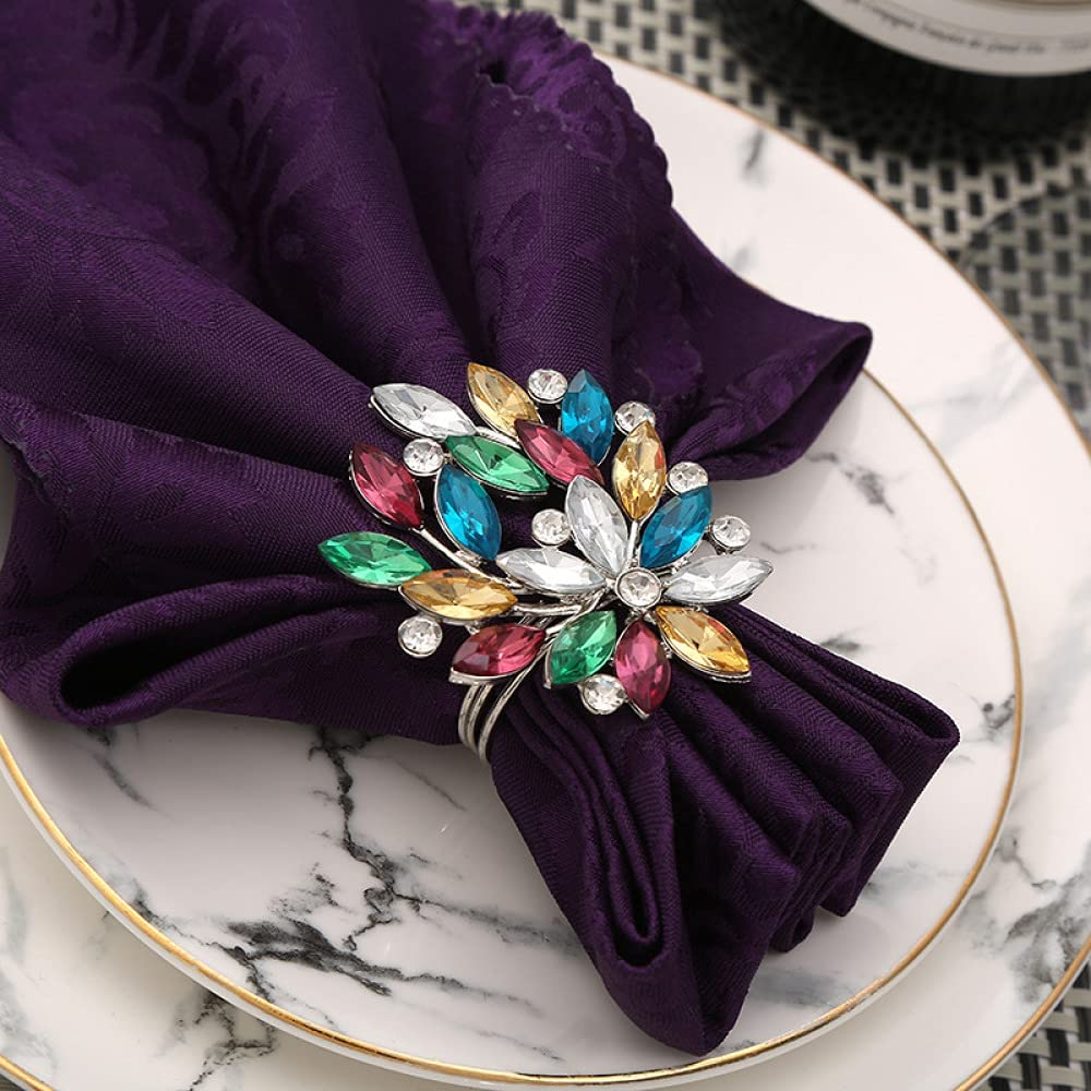 AOTHOOMGE Fall Max 90% OFF Napkin Holder Valentine overseas Rings
