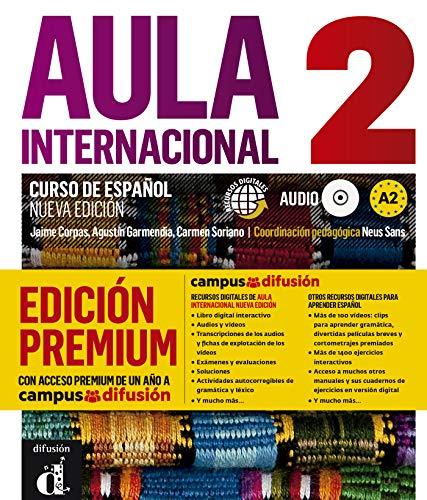 Aula Internacional Nueva Edición 2 Premium libro del alumno + CD: Aula Internacional Nueva Edición 2 Premium libro del alumno + CD (ELE NIVEAU ADULTE TVA 5,5%)