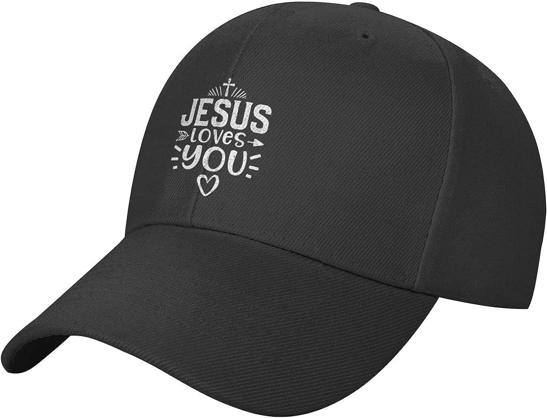 Jesus Religious Cap,Classic Baseball Cap Trucker Hatfor Men,Sun Hats for Women