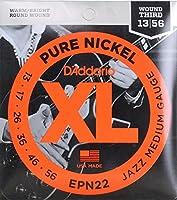 D'Addario EPN22 Jazz Medium エレキギター弦×3SET