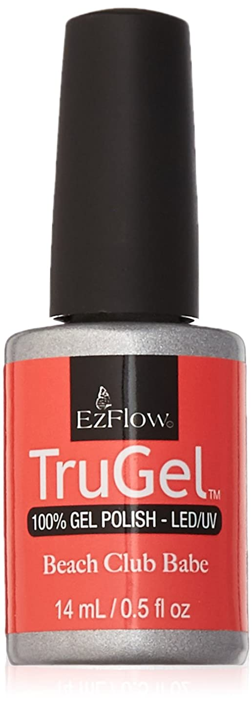 認証世論調査願望EzFlow TruGel Gel Polish - Beach Club Babe - 0.5oz / 14ml