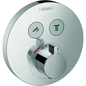chrome 15763000 hansgrohe Mitigeur thermostatique ShowerSelect pour 2 sorties