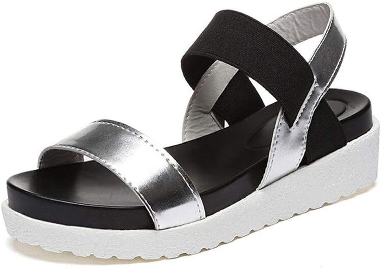Summer Sandals for Women shoes Peep-Toe Sandalias Flat shoes Roman Sandals shoes Woman women Ladies Flip Flops Footwear