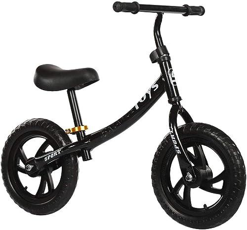 SDKHIN Balance Bike Erstes Fahrrad für Kinder von 2-6 Jahren Leichtes Kinderfahrrad Nicht aufblasbarer Schaumreifen mit verstellbarem Lenker