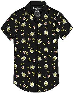 Rick and Morty Adult Unisex Szechuan Sauce Light Weight Button Up Shirt