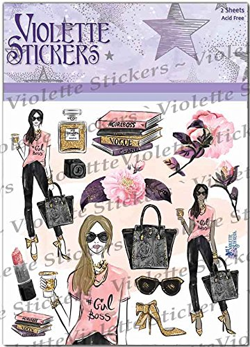 Violette Stickers Girl Boss Planner Suite - 3 sheets Photo #2