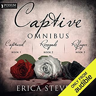 The Captive Omnibus     Books 1-3              By:                                                                                                                                 Erica Stevens                               Narrated by:                                                                                                                                 Luci Christian                      Length: 23 hrs and 3 mins     1 rating     Overall 5.0