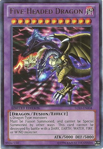 YU-GI-OH! - Five-Headed Dragon (LC03-EN004) - Legendary Collection 3: Yugi's World - Limited Edition - Ultra Rare