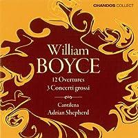 Boyce: Overtures / Concerti Grossi (2002-08-27)