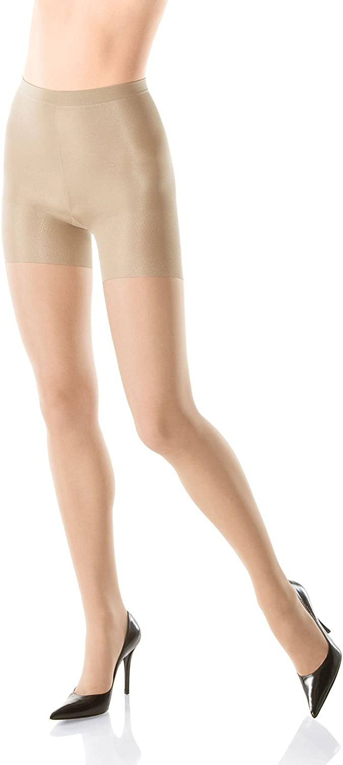 Spanx All the Way Super Control Full Length Pantyhose with Super Control Panty Size C Nude 009