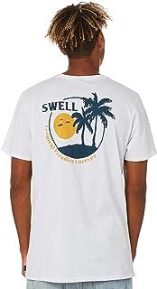 Swell Men's Daybreak Tee Short Sleeve Cotton White