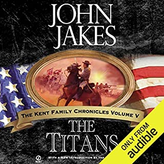 The Titans audiobook cover art