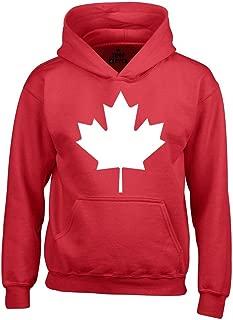Canada White Leaf Hoodie Sweatshirts