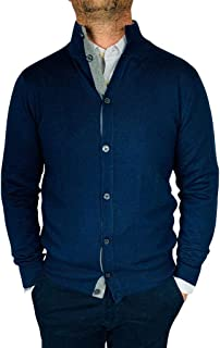 Fashion Moda Maglione Cardigan Uomo Classico Lana Cachemire Girocollo Zip Regular Fit Bottoni J1883